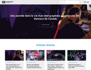 blog.gameloft.fr screenshot