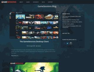 blog.gamesessions.com screenshot