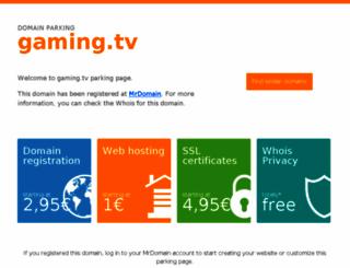 blog.gaming.tv screenshot