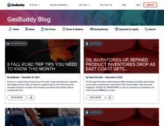 blog.gasbuddy.com screenshot