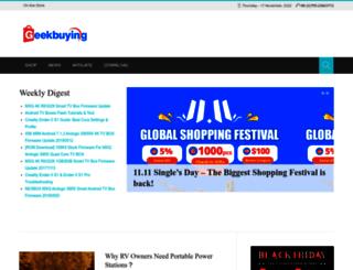 blog.geekbuying.com screenshot