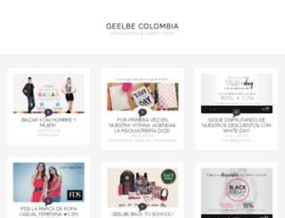 blog.geelbe.com screenshot
