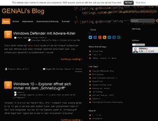 blog.geniali.ch screenshot