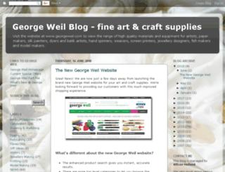 blog.georgeweil.com screenshot