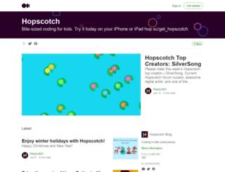 blog.gethopscotch.com screenshot