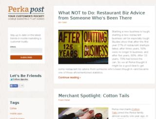blog.getperka.com screenshot