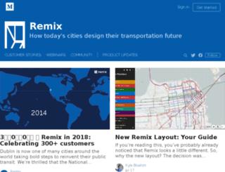 blog.getremix.com screenshot
