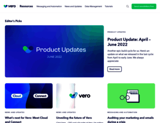 blog.getvero.com screenshot