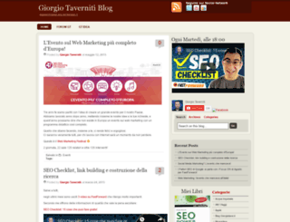 blog.giorgiotave.it screenshot