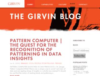 blog.girvin.com screenshot