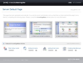 blog.glennz.com screenshot