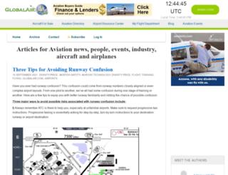 blog.globalair.com screenshot