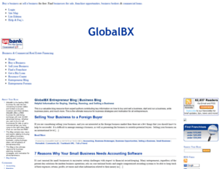 blog.globalbx.com screenshot