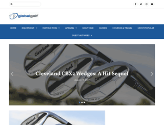 blog.globalgolf.com screenshot