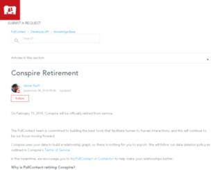 blog.goconspire.com screenshot