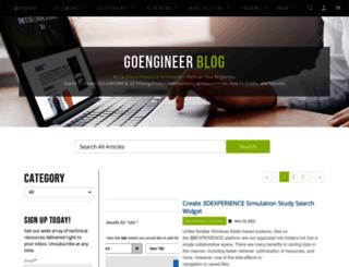 blog.goengineer.com screenshot