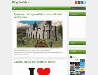 blog.gokids.ro screenshot