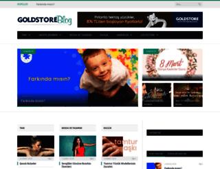 blog.goldstore.com.tr screenshot