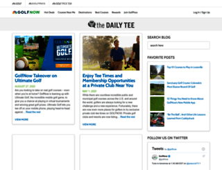 blog.golfnow.com screenshot
