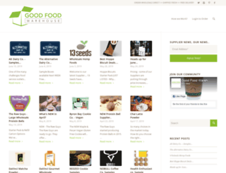 blog.goodfoodwarehouse.com.au screenshot