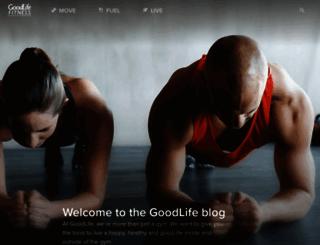 blog.goodlifefitness.com screenshot
