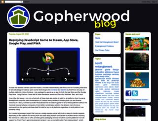 blog.gopherwoodstudios.com screenshot