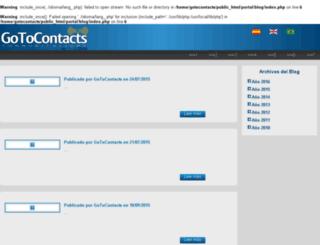 blog.gotocontacts.com screenshot
