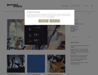 blog.gourmetsociety.co.uk screenshot