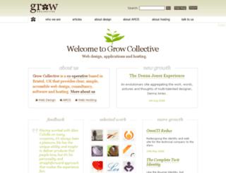 blog.gr0w.com screenshot