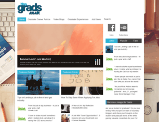 blog.grads.co.uk screenshot