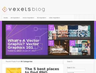 blog.greatvectors.com screenshot