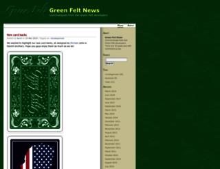 blog.greenfelt.net screenshot