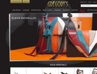 blog.gregorysshoes.com screenshot