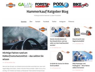 blog.hammerkauf.de screenshot