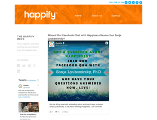 blog.happify.com screenshot