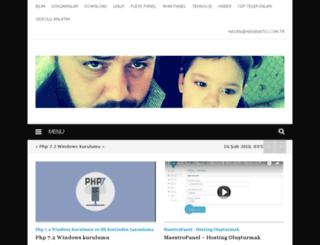 blog.hasanatici.com screenshot