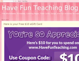 blog.havefunteaching.com screenshot