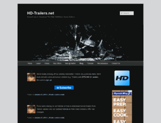 blog.hd-trailers.net screenshot