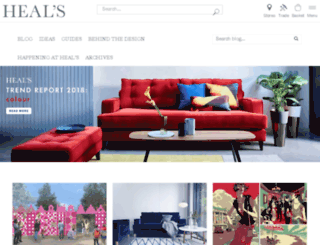 blog.heals.co.uk screenshot