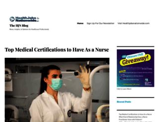 blog.healthjobsnationwide.com screenshot