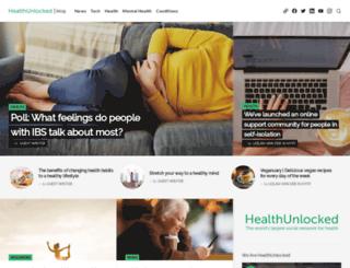 blog.healthunlocked.com screenshot