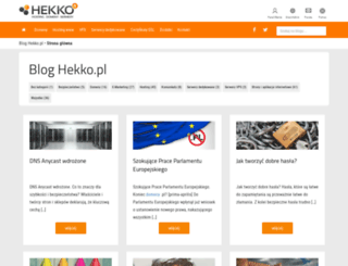 blog.hekko.pl screenshot