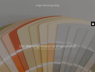 blog.helge-weinberg.de screenshot
