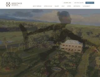 blog.heritageresorts.mu screenshot