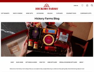 blog.hickoryfarms.com screenshot