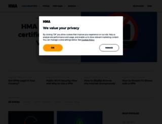blog.hidemyass.com screenshot