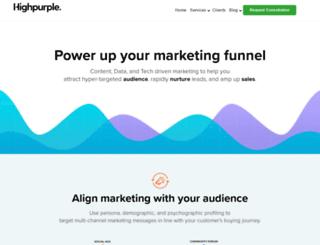 blog.highpurple.com screenshot