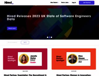 blog.hired.com screenshot