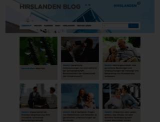 blog.hirslanden.ch screenshot