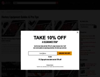 blog.hockeymonkey.com screenshot